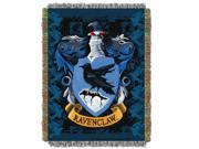 Harry Potter Ravenclaw Crest Licensed 48x 60 Woven Tapestry Throw  by The Northwest Company - 1HPT/05100/0005/RET