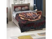 Harry Potter-School Motto Licensed Bedding, Twin/Full Comforter (72x 86) & 2 Shams (20x 30) Set  by The Northwest Company - 1HPT/85300/0001/RET