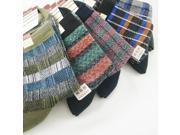 12 Pairs/lot mix colors business men's cotton socks
