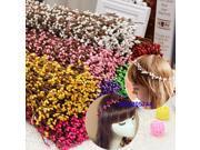 5x Artificial Flower Hair HeadBand Vine Garland Rattan Party Home Wedding Decor Yellow