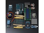 New Ultimate Starter Kit for Arduino UNO R3 1602 LCD Servo Motor LED Relay