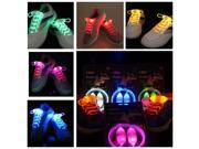 LED Shoelaces Flash Light Up Glow Stick Strap Party Eyes-catching Queen 3 Mode