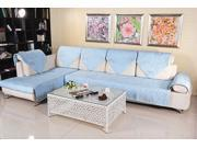 Multi-Size New Sofa Couch Slipcovers Quilted Embroidery Sectional Furniture Protector Cover 90*160cm
