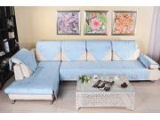 Multi-Size New Sofa Couch Slipcovers Quilted Embroidery Sectional Furniture Protector Cover 90*210cm