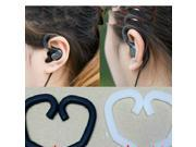 2 Colours Universal Earph Hook Earhook Ears Headphones Silicone Round Wire Headset 1.5 To 2mm