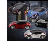 2 pcs Cool Cars shape Wireless 1600dpi Optical Car Mouse Mice USB 2.0 Receiver for PC Laptop Notebook