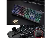 NEW Waterproof Colorful LED Illuminated Backlight USB Wired Gaming Game Keyboard 9SIV0E240A4240