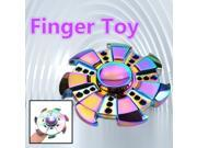 2pcs Special Gear Rainbow Fidget EDC Hand Spinner Relieve Stress & Reduce Anxiety Torqbar ADHD Autism Finger Toy Kill time