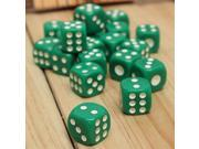 20 pcs Bar Pub Party 14mm Six Sided Spot D6 Chess Games Dice Set Opaque