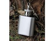 1oz Mini Stainless Steel Hip Flask Alcohol Flagon Wine with Keychain Portable 9SIAASP40B7485