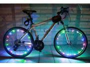 Bike Bicycle Cycling Flash Wheel Valve Spoke LED Light Lamp Reflector 9SIV0E240A9117