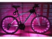 Bike Bicycle Cycling Flash Wheel Valve Spoke LED Light Lamp Reflector 9SIAASP40M7708