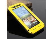 Love Mei Aluminum Colourful Metal Gorilla Glass Water Proof Case Cover For HTC Desire 820