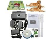 New 2 Dogs Waterproof In-Ground Electronic Wireless Pet Dog Electric Fence Dog Training Containment System