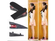 Unisex Shoe Insole Air Cushion Heel insert Increase Taller Height Lift 5 cm