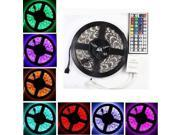 5M RGB 5050 SMD 300 Flexible LED Light Strip 12V DC + 44 keys IR Remote Controller 9SIV0E240A6875