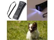 Ultrasonic Dogs Chaser Stop Aggressive Animal Attacks Repeller with Flashlight