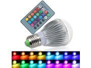 12W E27 RGB LED Spot Light lamp Bulb 16 Colors Changing Downlight IR Remote