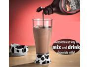 Creative 14 oz Automatic Self Stirring Mug Chocolate Milk Coffee Tea Mixing Cup Skinny Moo Mixer 9SIA76H32M6774