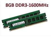 AD NEW 8GB DDR3 PC3-12800 1600MHz Desktop PC DIMM Memory RAM 240 pin For AMD System