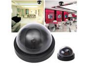 Dome Dummy Fake Surveillance Monitor CCTV Security Camera Flashing LED Light Home Safe