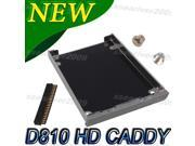 HDD Hard Drive Caddy Cover For Dell D810 Precision M70 D5174 Connector + Screw