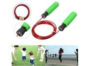Skipping Speed Rope Weighted Fitness Boxing Leather Jump Jumping Gym Outdoor Exercise 9SIA76H39G1994