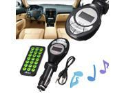 Stereo LCD Wireless Car Kit MP3 Music Player Support SD/TF/MMC Card USB Disk 120 Degree Rotation