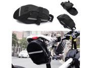 New Cycling Outdoor Bike Bicycle Waterproof Saddle Bag Wedge Phone Rear Seat