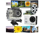 Original CODE SJCAM SJ4000 1080P Waterproof Mini Sports DV Action Camera DV SILVER 9SIV0E240B1344