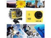 Original CODE SJCAM SJ4000 1080P Waterproof Mini Sports DV Action Camera DV YELLOW 9SIV0E240B1077