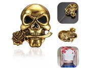 Unisex Halloween Party Ball Vintage Retro Skull Skeleton Brooch Pin Decor Jewelry Gifts