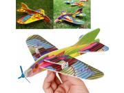 10PCS Mini Foam Kids Hand Throwing Flying Aircraft Airplane Glider Toys DIY Great Gift For Kids Children