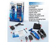 4D IPX7 3In1 Washable Floating Head Electric Shaver Razor Nose Trimmer Hair Temple Cutter Travelling 9SIAASP40M4227