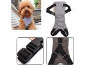 Adjustable Travel Pet Dog Cat Adjustable Safe Padded Safety Car Seat Belt Restraint Harness Leash