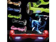 Mini Smart Electric Self Balancing Scooter Hover Board Unicycle 2 Wheel With LED Lights Choose Colour