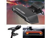 2 Laser Bicycle Bike Indicator Signal LED Rear Tail Light Wireless Remote USB For Outdoor