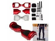 Aluminum Rubber 6.5'' Wheel Scooter Self Balance Hover Board Replacement Kit Pad