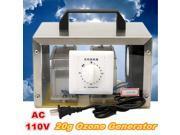 110V 20g Ozone Generator 20000mg/h Ozone Disinfection Machine Home Air Purifier 9SIA76H6871661