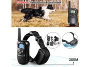 LCD 100LV Level Shock Vibra Remote Dog Training Collar Rechargeable 300 Yard 9SIA76H6R05710