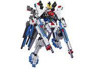 Young New LOZ Diamond Block I Robots Gundam D Series 19cm 689pcs #9354 Parent-child Games Building Blocks Children's Educational Toys 9SIA76Z39W9505