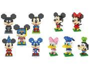 Pack of 10 LOZ Diamond Block Mickey Mouse Donald Duck Micky Minny Goofy Toys Parent-child Games Building Blocks Children's Educational Toys 9SIA76Z3BS6311