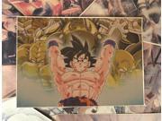 Dragon Ball Son Goku Genki Damaspirit Bomb Poster Anime Poster Kraft Paper Poster Wall Sticker HAIB22 9SIA76Z6149957