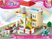 Sluban building blocks new pink dream series 0533 sweet home children's puzzle assembling toys 9SIA76Z62G8560