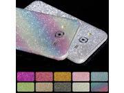 Glitter Rhinestone Sticker case for SXGS5 S6 S7 Edge S7 S8 Plus Protector For iPhone 5 5S SE 6 6S 7 Plus