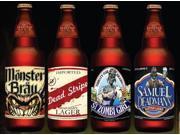 Slap Sticker Halloween Beer Labels 4 Pack Party Prop