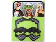 Pixel-8 Costume Moustache Set One Size