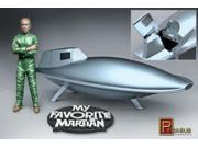 My Favorite Martian Uncle Martin & Spaceship Pre-Built 1/18 Scale Plastic Model