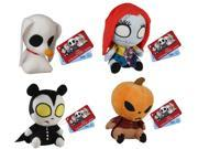 Nightmare Before Christmas Funko Mopeez Plush: Set Of 4