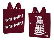 "Doctor Who Dalek ""Exterminate! Exterminate!"" Large Tote Bag"